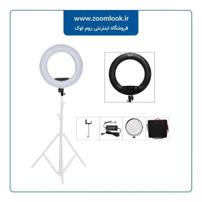 رینگ لایت حرفه ای Ring Light FS 480II بدون صفحه نمایش
