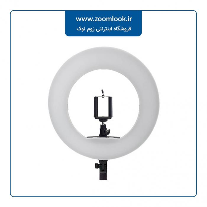 رینگ لایت حرفه ای Ring Light FS-390 بدون صفحه نمایش