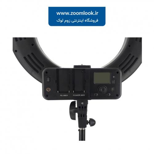 رینگ لایت حرفه ای Ring Light FE-580 II با صفحه نمایش