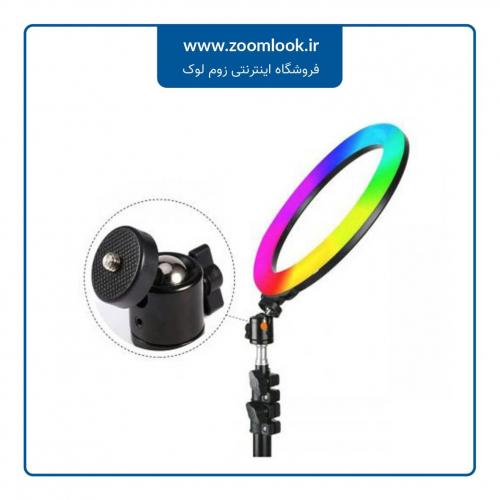 رینگ لایت رومیزی Ring Light YQ-350 RGB