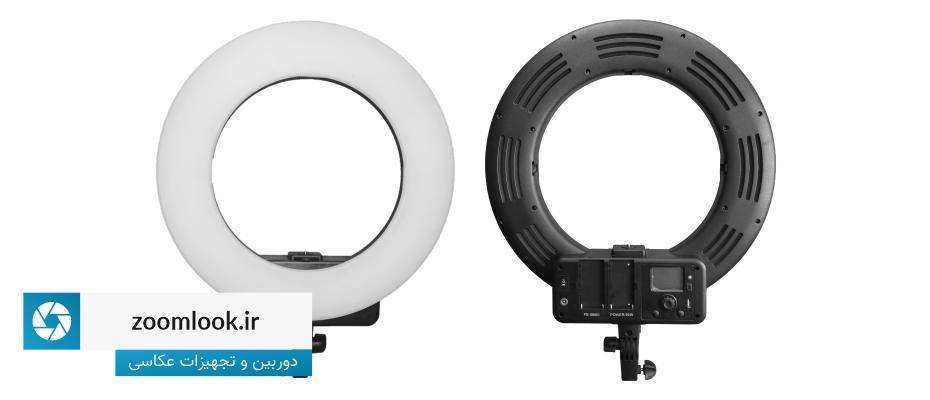رینگ لایت حرفه ای Ring Light FE 580 III با صفحه نمایش