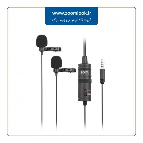 میکروفون یقهای بویا BOYA BY-M1DM Lighting Microphone