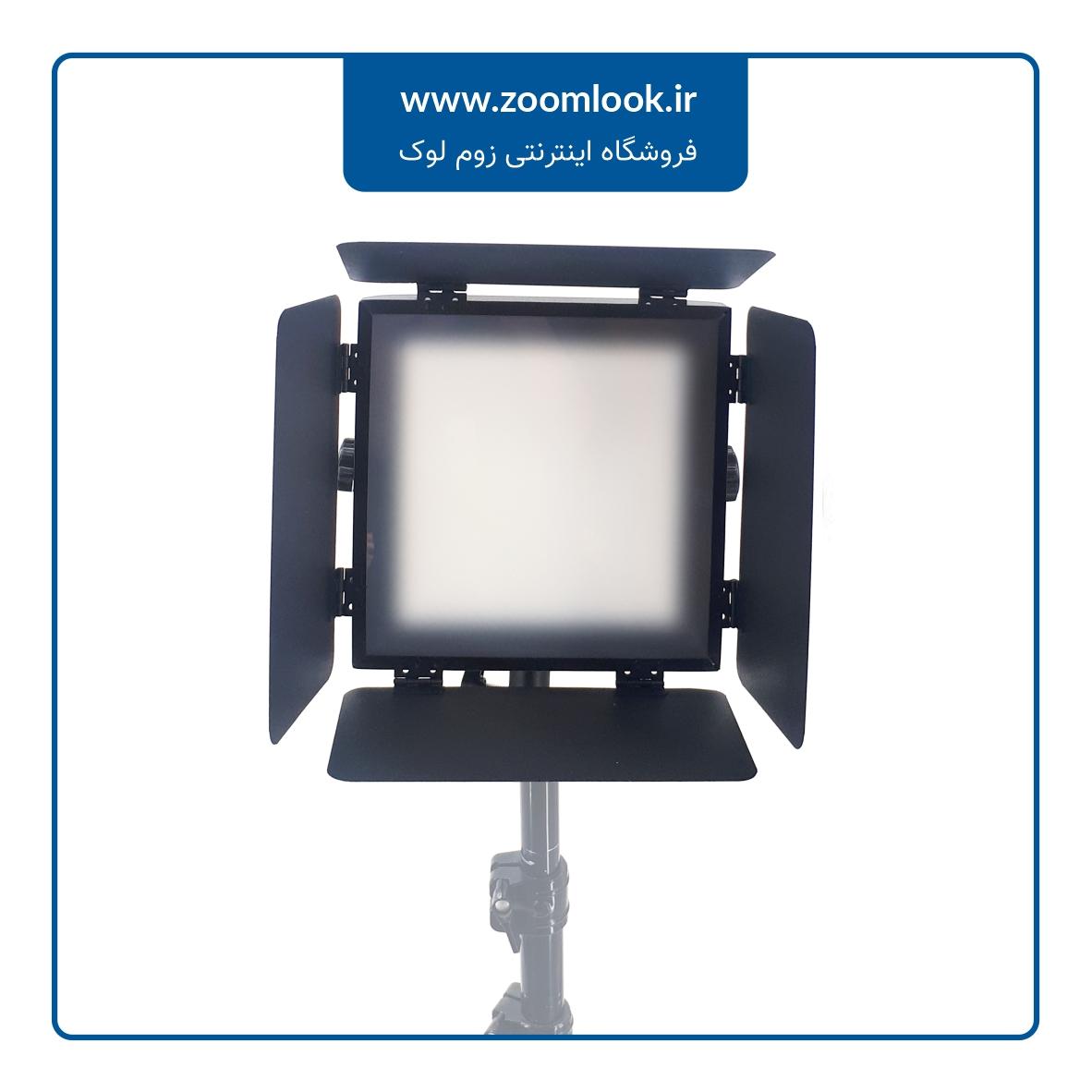 فلات نور ثابت Panasun square light S290