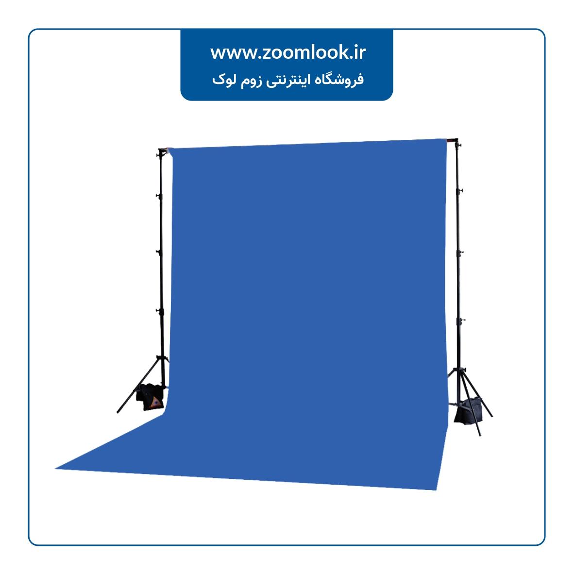 فون مخمل عکاسی آبی کروماکی 5×3