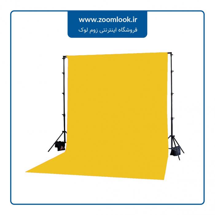 فون مخمل عکاسی زرد 5×3