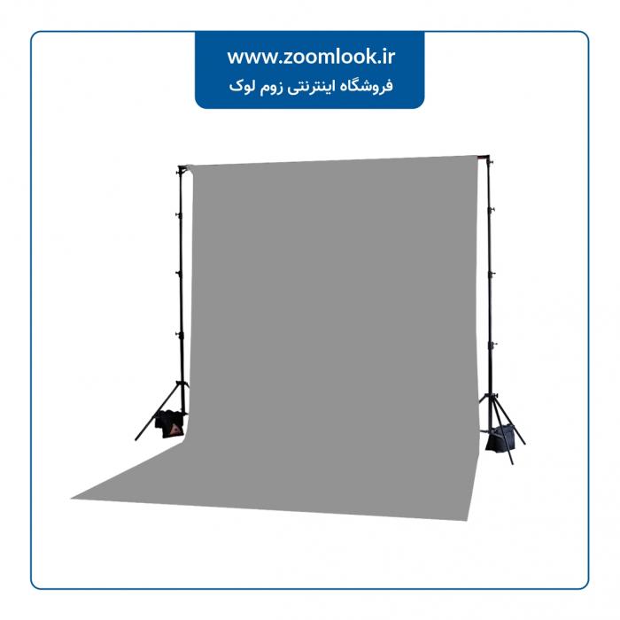 فون مخمل عکاسی طوسی روشن5×3