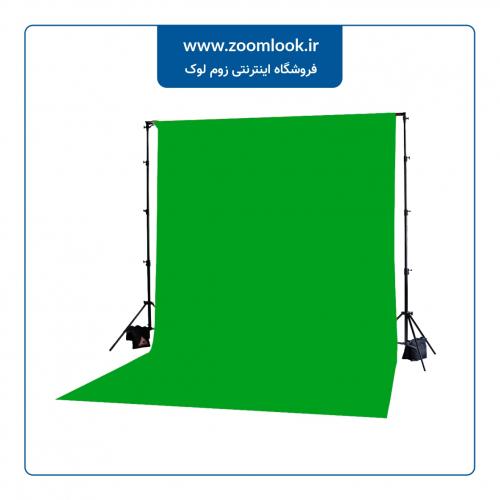 فون مخمل عکاسی سبز کروماکی 5×3