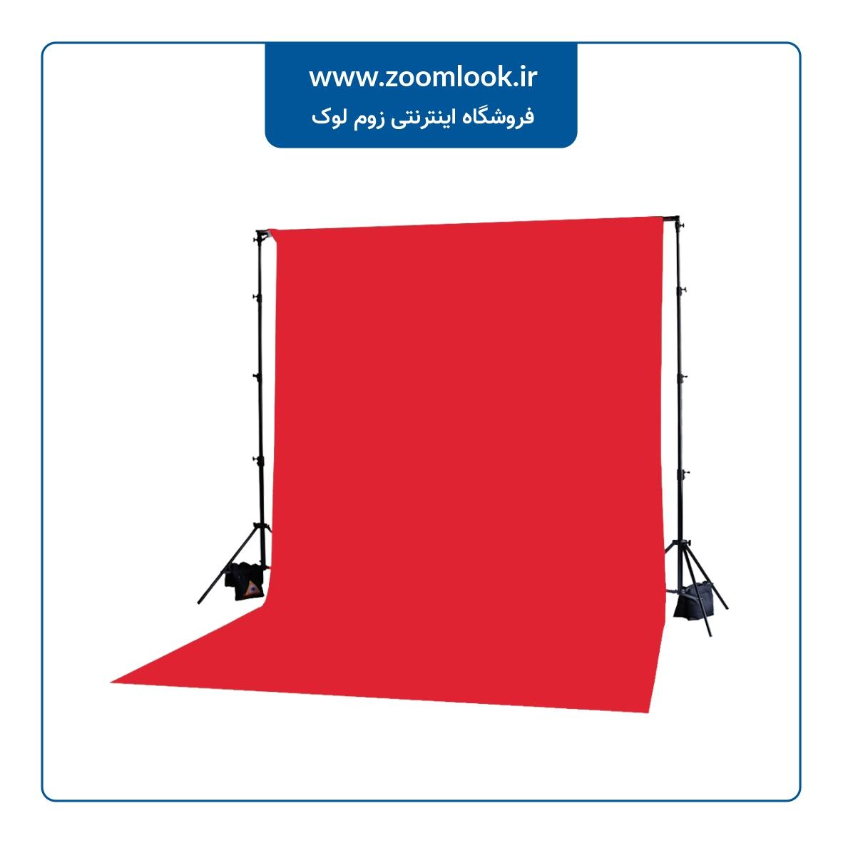 فون مخمل عکاسی قرمز 5×3