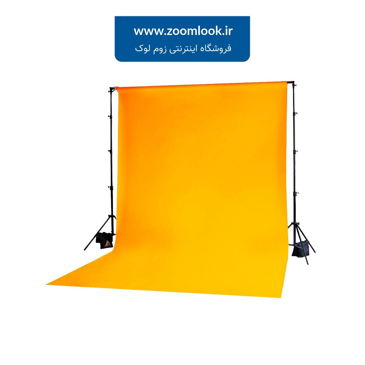 فون شطرنجی عکاسی نارنجی 5×3