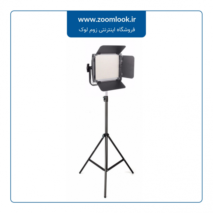 فلات نور ثابت ۶۰۰ لامپ (LED)