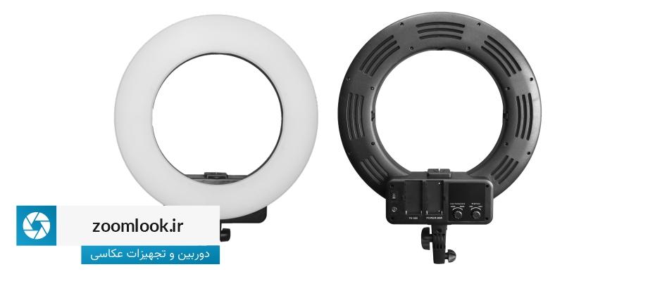 رینگ لایت حرفه ای Ring Light FE 580 بدون صفحه نمایش