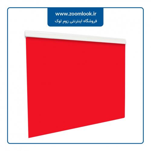 پرده کرکره ای Milook تک محوره رنگ قرمز