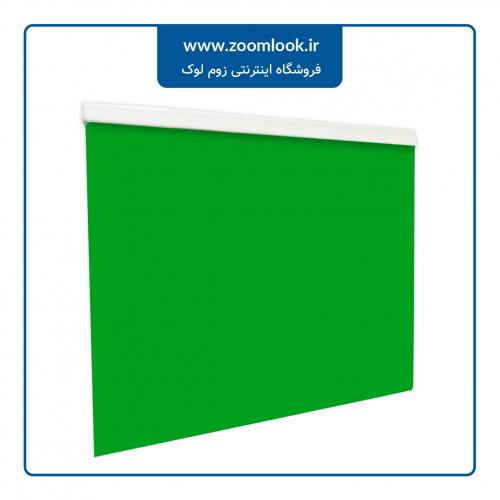 پرده کرکره ای Milook یک محوره رنگ سبز کروماکی