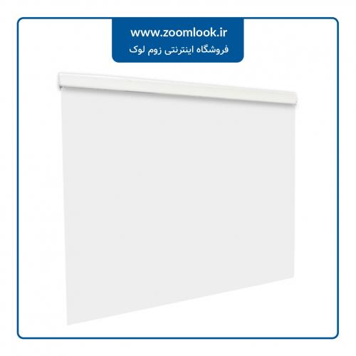 پرده کرکره ای Milook یک محوره رنگ سفید